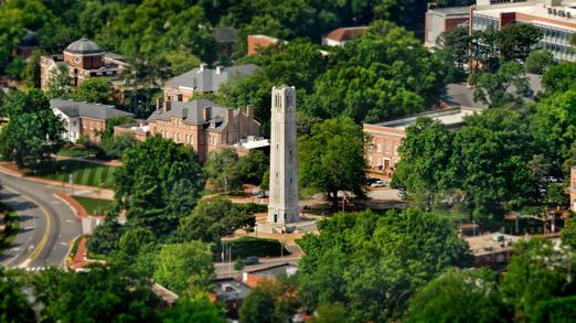 NCSU campus tower