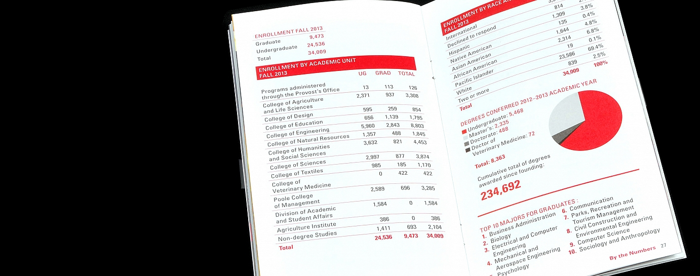 facts and figures brochure